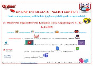 Szkolny Konkurs Języka Angielskiego online