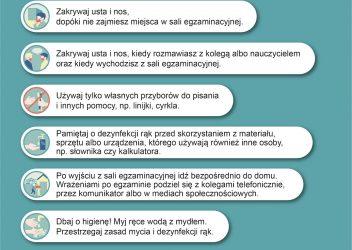 Komunikat dla maturzystów