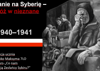 """V Międzyszkolny Konkurs """"Co Nam Przekazują Zesłańcy Sybiru?"""""""