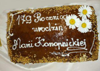 179 rocznica urodzin Marii Konopnickiej